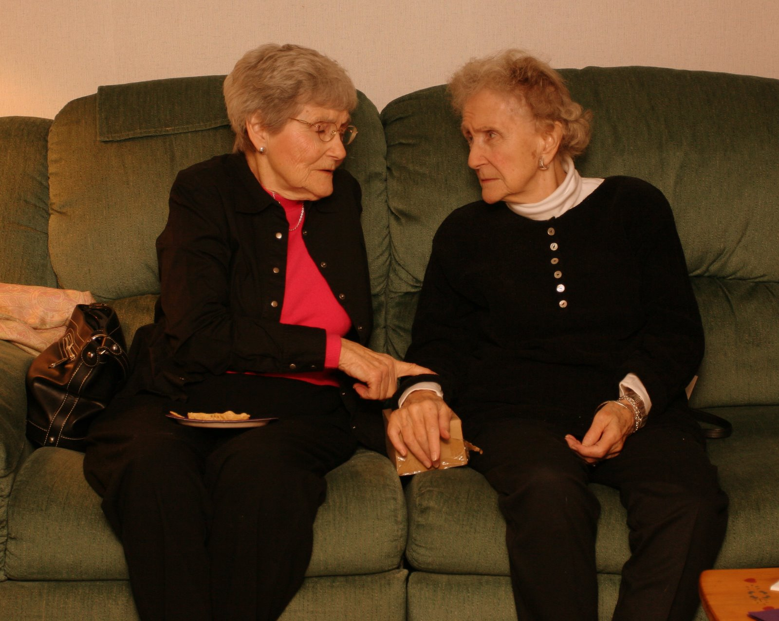 Grandmom and Aunt Helen