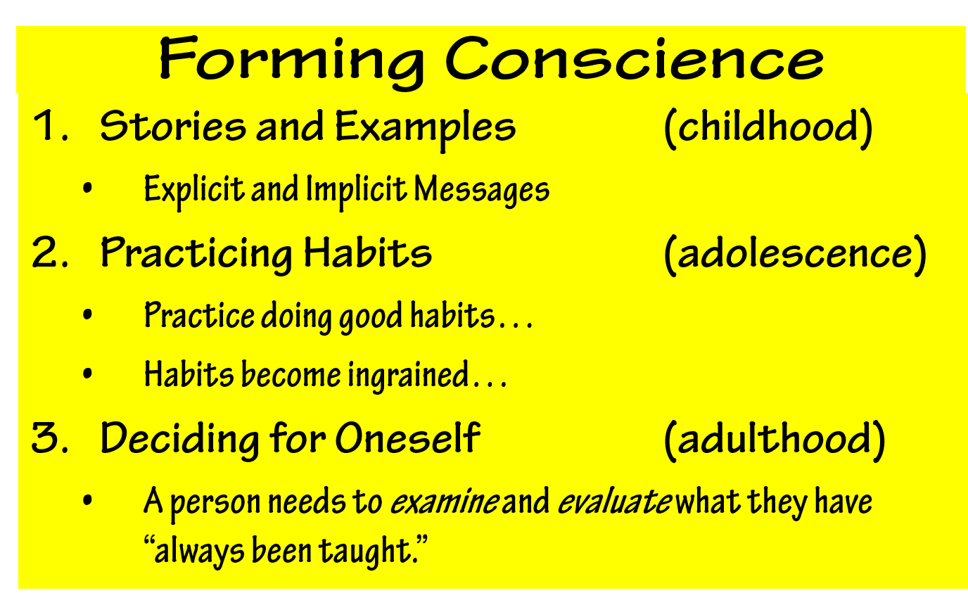 Conscience Formation